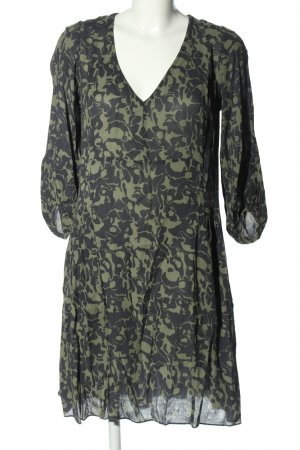 Bellerose Blouse Dress khaki-light grey abstract pattern casual look
