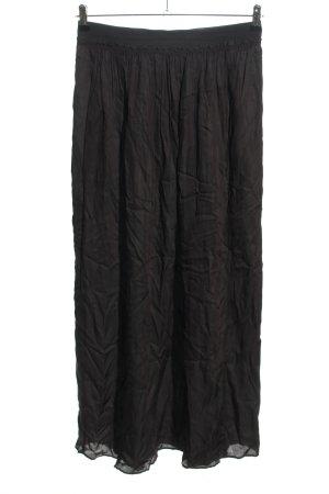 Bellerose Jupe longue noir style décontracté