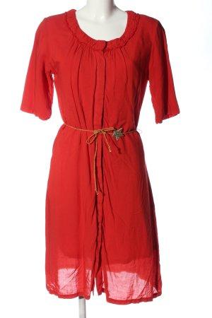 Bellerose Robe mi-longue rouge élégant
