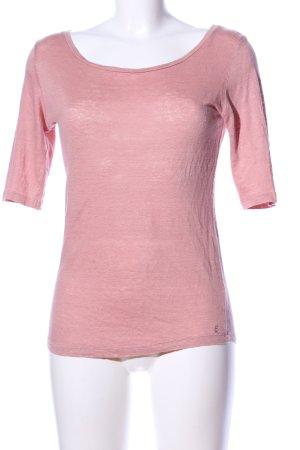 Bellerose Rundhalspullover pink Business-Look