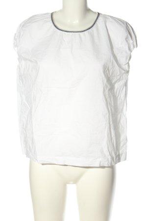 Bellerose Blouse à enfiler blanc style simple