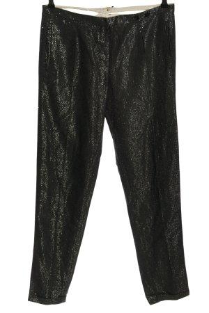 Bellerose Pantalon en jersey noir moucheté élégant