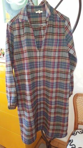 Bellerose Vestido de lana multicolor Lana