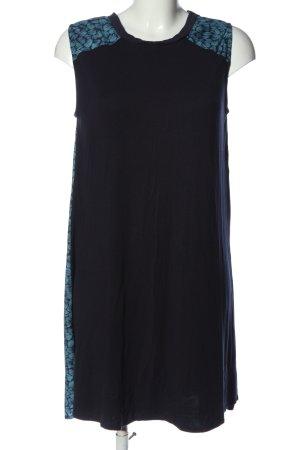 Bellfield Mini Abito nero-blu motivo floreale stile casual