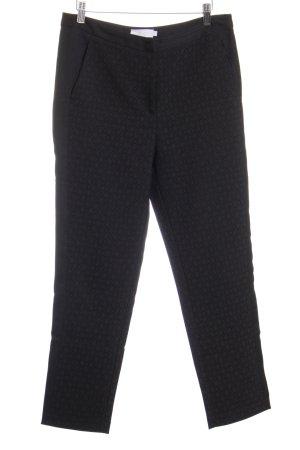 Bellfield Stoffen broek zwart zakelijke stijl