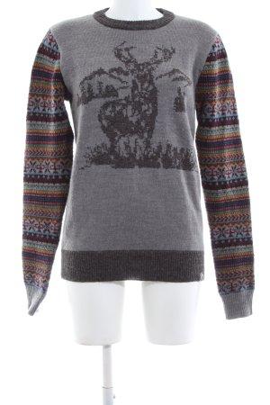 Bellfield Gebreide trui gestippeld casual uitstraling