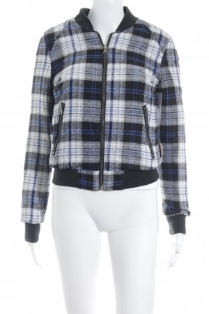 Bellfield Reversible Jacket check pattern athletic style