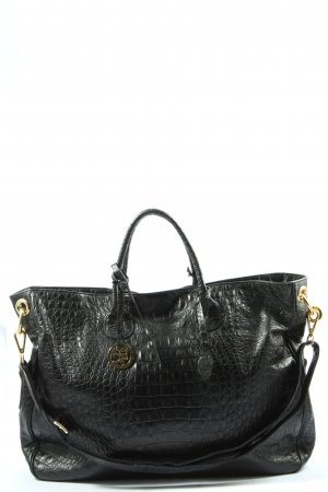 Bellissima Creation Carry Bag black animal pattern business style