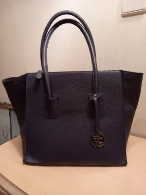 Bellissima Creation Tasche Shopper Tote Leder blau