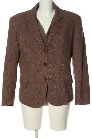 Bellissima Woven Twin Set brown flecked casual look