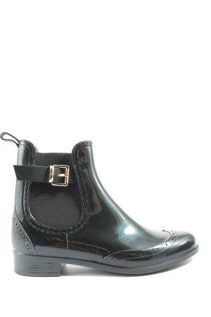 Bello Star Wciągane buty za kostkę czarny W stylu casual
