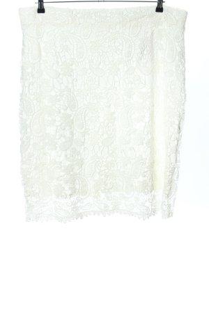 Belloya Koronkowa spódnica biały Elegancki