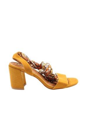 Bellucci Platform High-Heeled Sandal light orange elegant