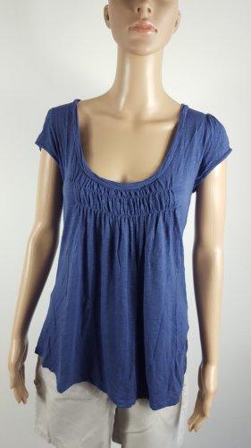 Belly Button Damen Tunikashirt Babydollshirt Viskose blau Größe L