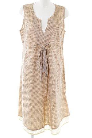 Bellybutton A-Linien Kleid blassgelb-hellorange Allover-Druck Casual-Look