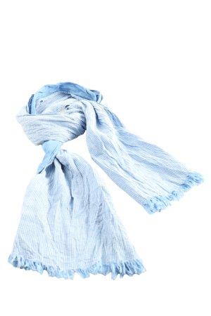 Bellybutton Halstuch blau-weiß Karomuster Casual-Look