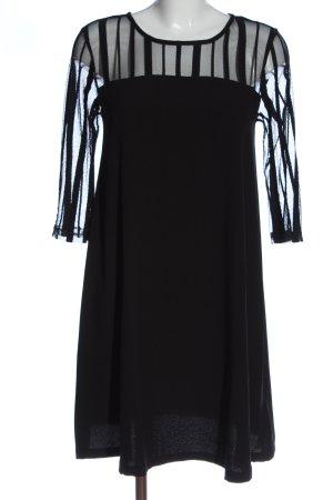 Bellybutton Langarmkleid schwarz Elegant
