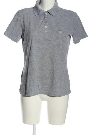 Bellybutton Polo Shirt light grey flecked casual look