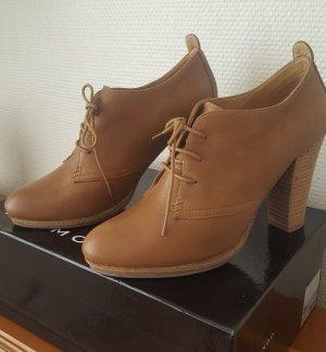 Belmondo Ankle Boots cognac Echtleder Gr. 38