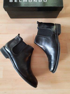Belmondo Chelsea laarzen zwart Leer
