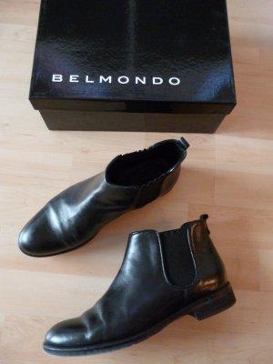 Belmondo Elegante Chelsea Boots aus glänzendem Glattleder