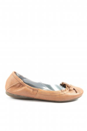 Belmondo Foldable Ballet Flats brown casual look