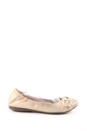 Belmondo faltbare Ballerinas creme Casual-Look