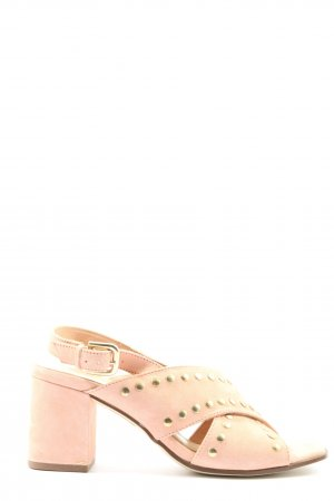 Belmondo High Heel Sandaletten creme Casual-Look