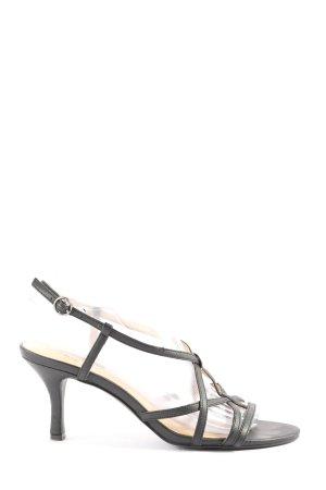 Belmondo High Heel Sandaletten schwarz Casual-Look