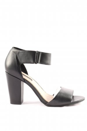 Belmondo High Heel Sandaletten schwarz Elegant