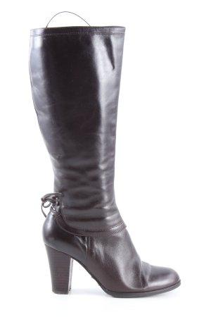 Belmondo Wysokie buty na obcasie brązowy W stylu casual