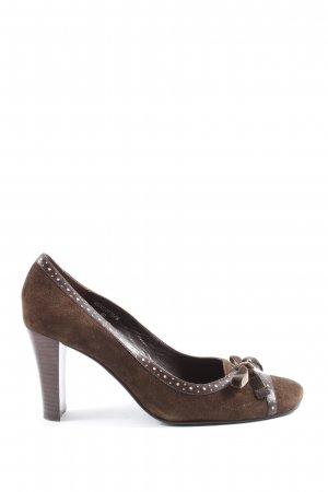 Belmondo High Heels braun Casual-Look