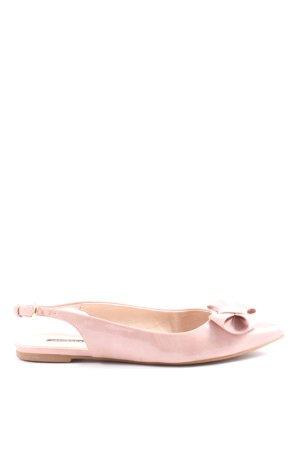 Belmondo Tacones de plataforma rosa look casual
