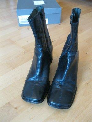 Belmondo, Lederstiefeletten schwarz, Größe 37