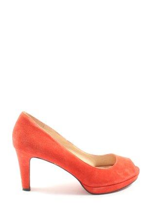 Belmondo Peep Toe Pumps rood elegant