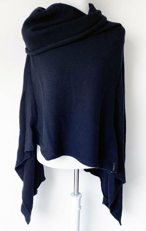 Belmondo Knitted Poncho black