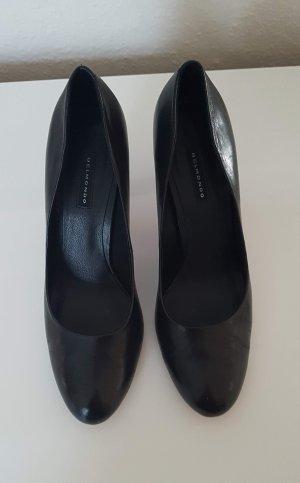 Belmondo Pumps, kaum getragen, schwarz mit roten Sohlen