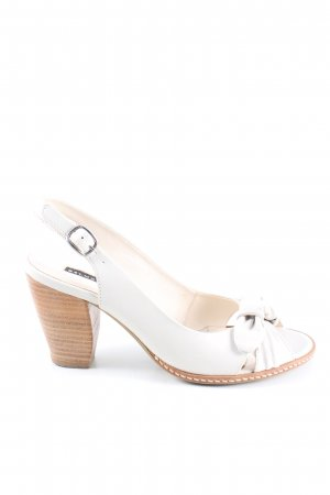 Belmondo Slingback-Pumps weiß Casual-Look