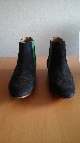 Belmondo Slip-on laarzen donkerblauw-groen