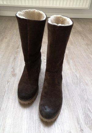 Belmondo Winter Boots brown-dark brown