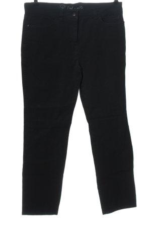 Belmonte Spodnie z pięcioma kieszeniami czarny W stylu casual