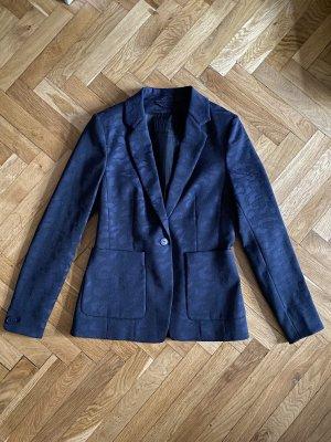 Drykorn Jersey blazer donkerblauw