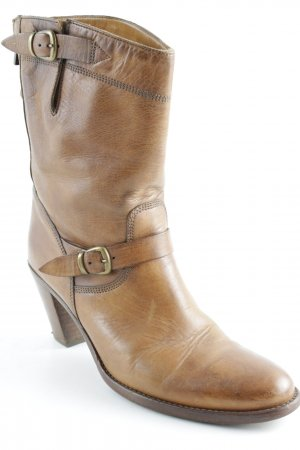 Belstaff Heel Boots camel country style