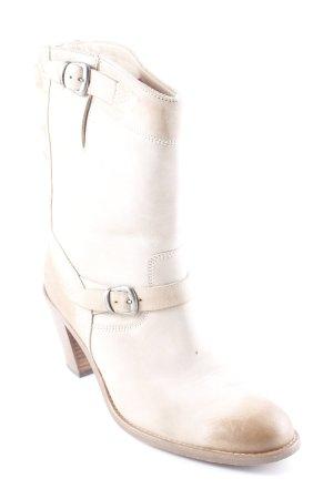 Belstaff Heel Boots oatmeal-camel Logo application (metal)
