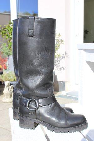 Belstaff Botas con tacón negro Cuero
