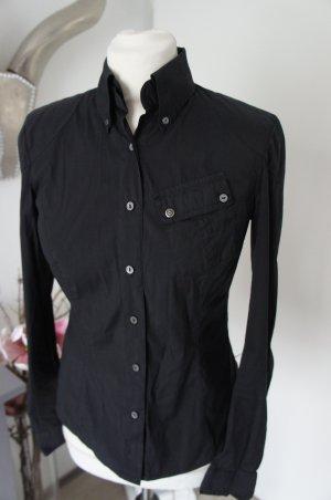 BELSTAFF Bluse Größe 36 it. 42 schwarz