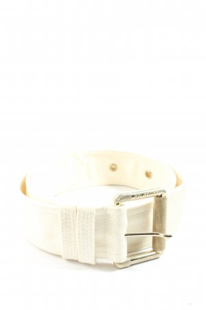 Belstaff Canvas Belt natural white casual look
