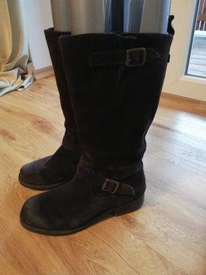 Halfhoge laarzen bruin