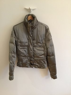 Belstaff Down Jacket silver-colored