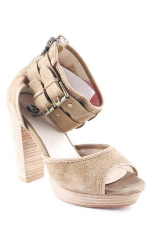 Belstaff High Heel Sandaletten camel Casual-Look